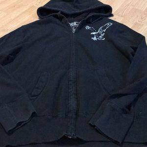 American Eagle outfitters Men's full zip hoodie